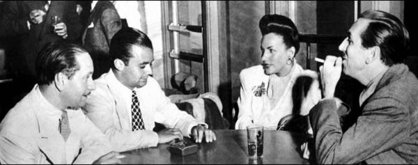 Carmem Miranda e Walt Disney - 1943