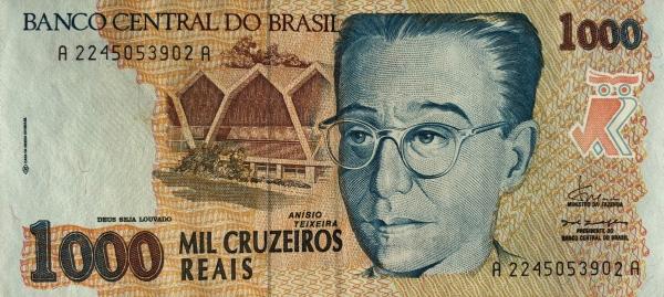 Homenagem a Anísio Teixeira - 1993