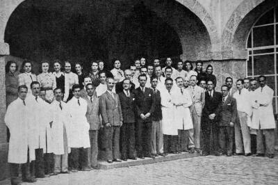 Lourenço Filho e Funcionários - 1942