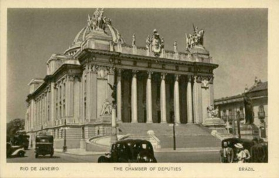 Primeira sede do Inep - 1938